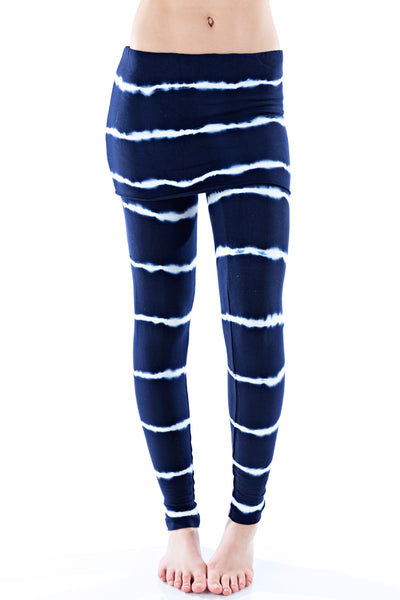 Foldover Leggings Bamboo - LVR Fashion