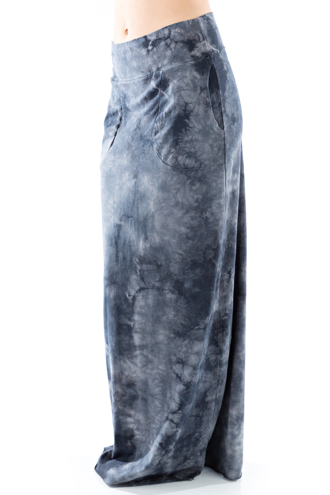 Pocket Maxi Skirt Crystal - LVR Fashion