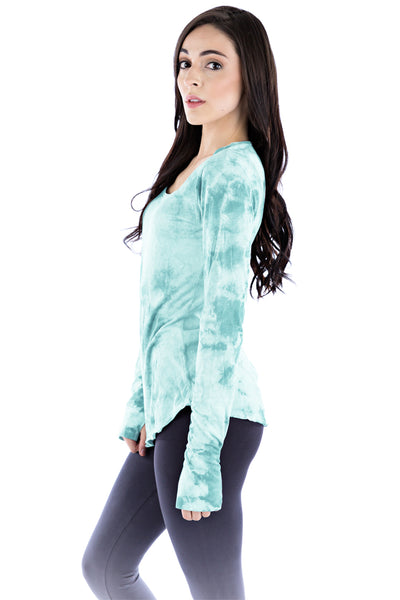 Longsleeve Scoop Crystal - LVR Fashion