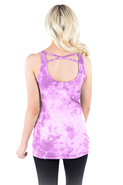 Crossback Tank Crystal - LVR Fashion