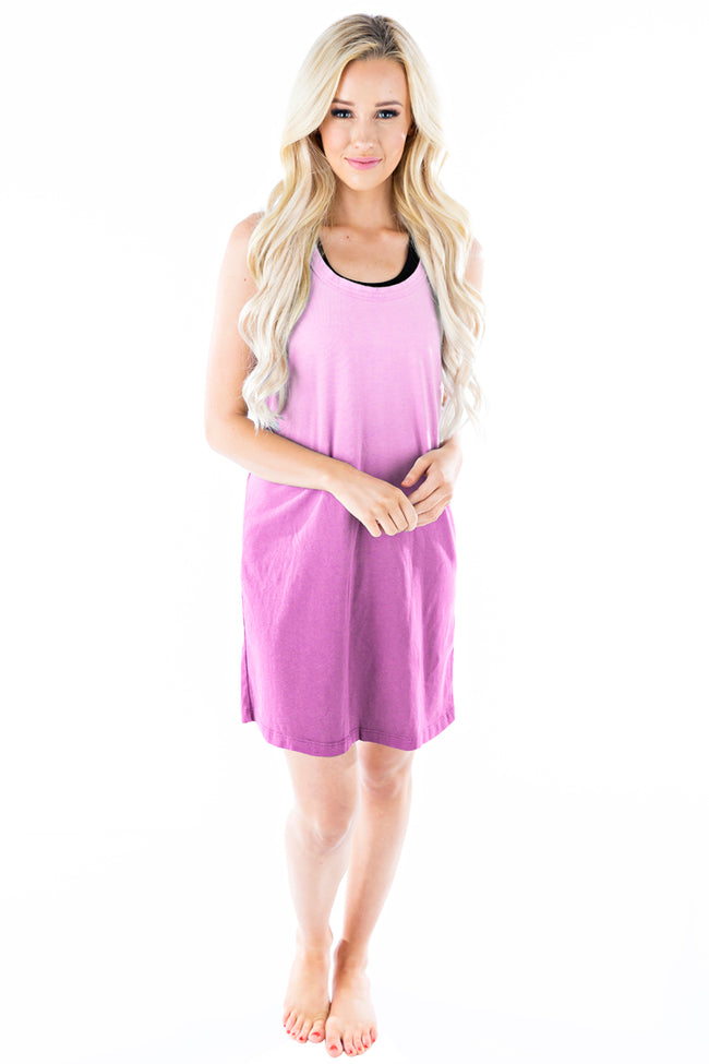 Wave Dress Ombre