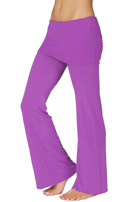 Foldover Yoga Pants