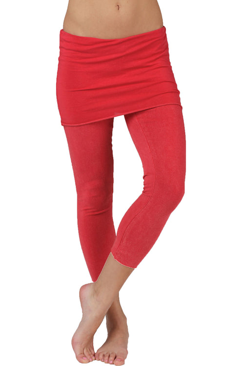 Lightweight Foldover Capris - LVR Fashion