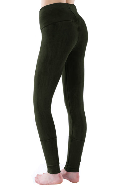 Cuffed Leggings Mineral - LVR Fashion