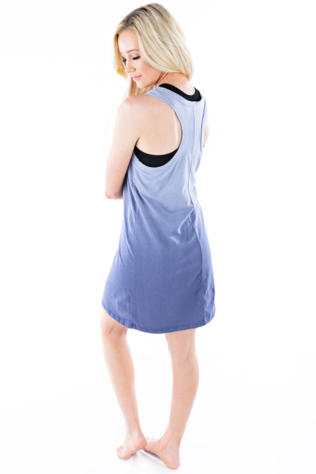 Sleeveless Mini Dress Crystal