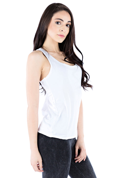 Cross Cut Tank - LVR Fashion