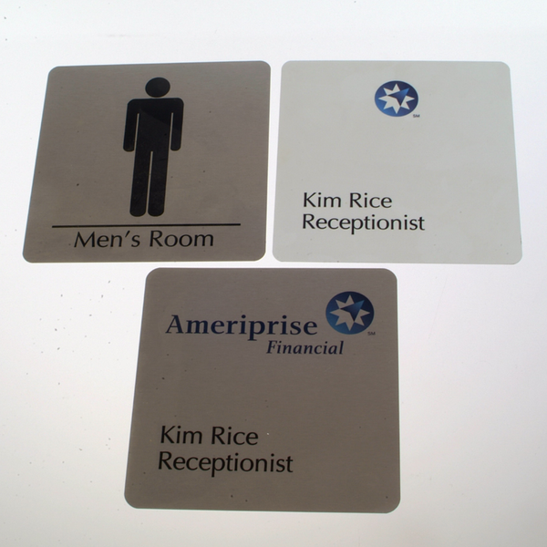 Office Signs & Name Plates