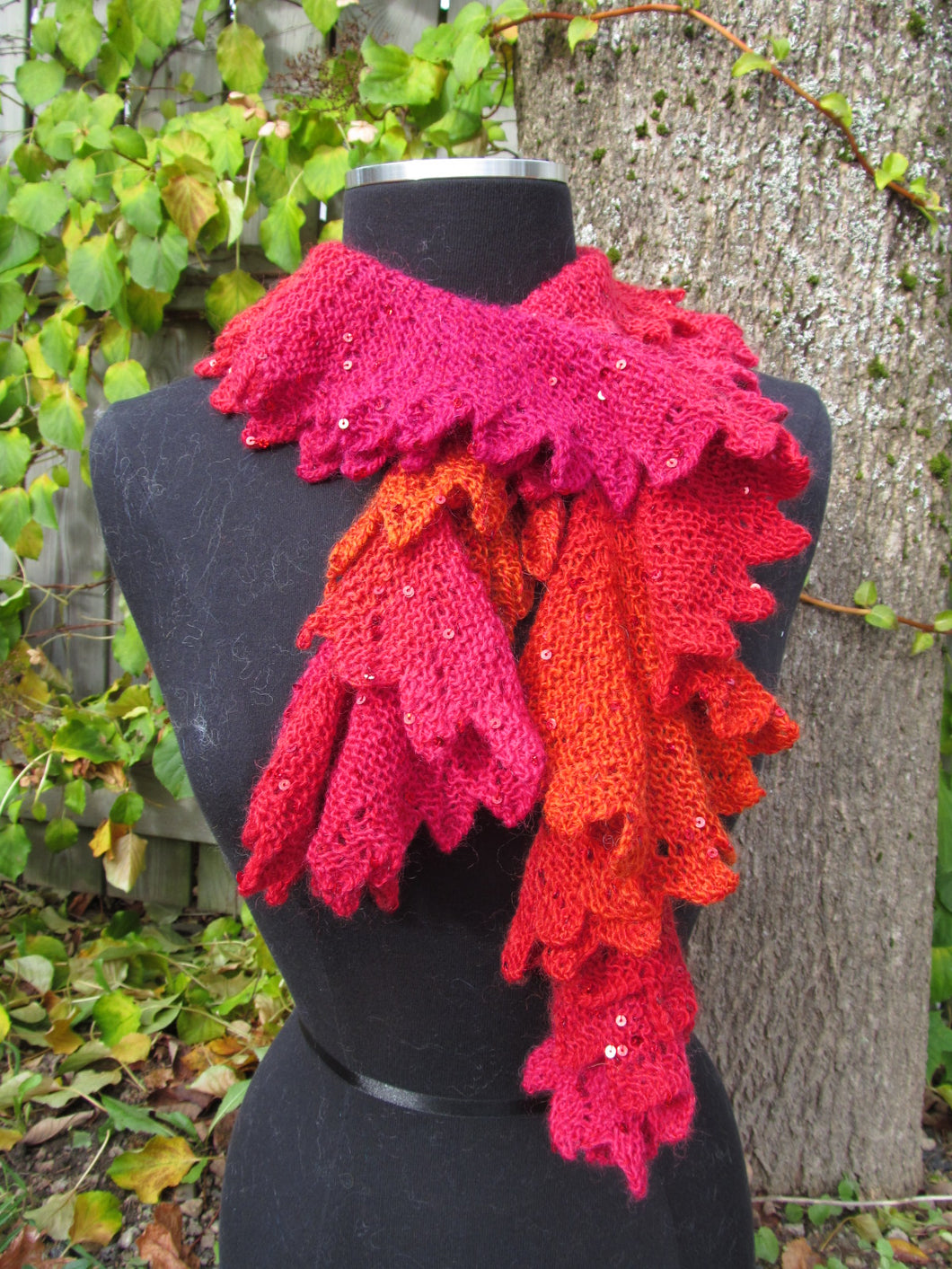 Pattern - Dragon Scales Scarf