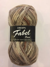 Drops Fabel #912 Soft Chocolate