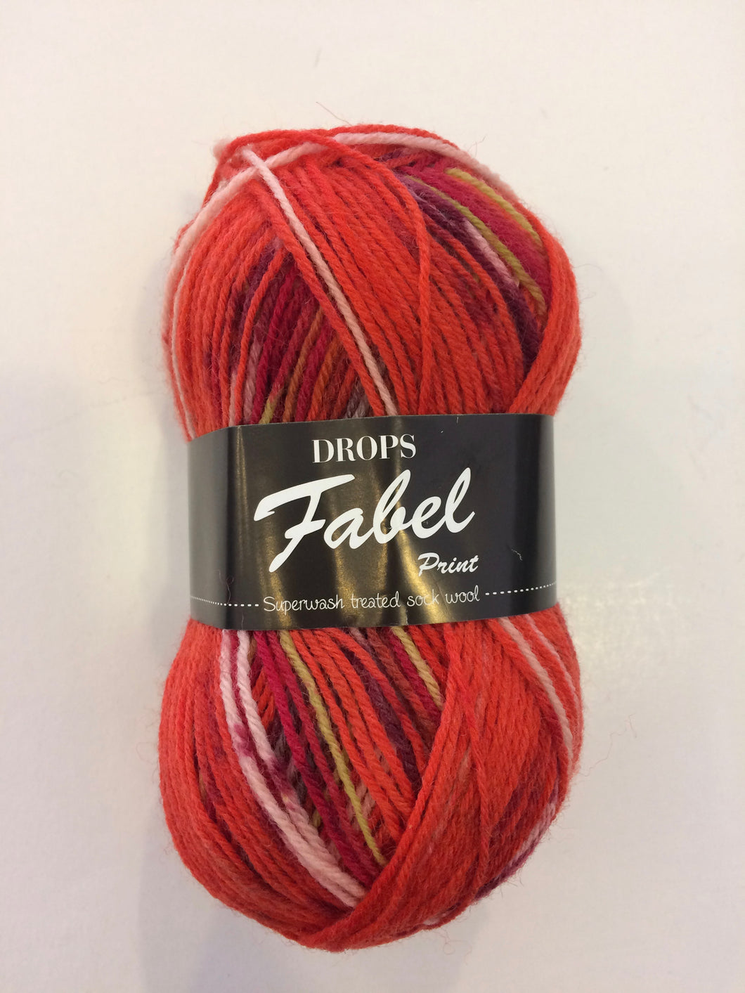 Drops Fabel #159 Red Chili