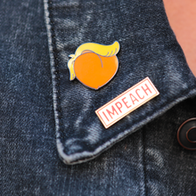 Load image into Gallery viewer, IMPEACH Stamp Enamel Pin