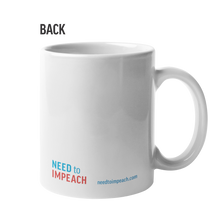 Load image into Gallery viewer, IMPEACH 45 Stamp Mug