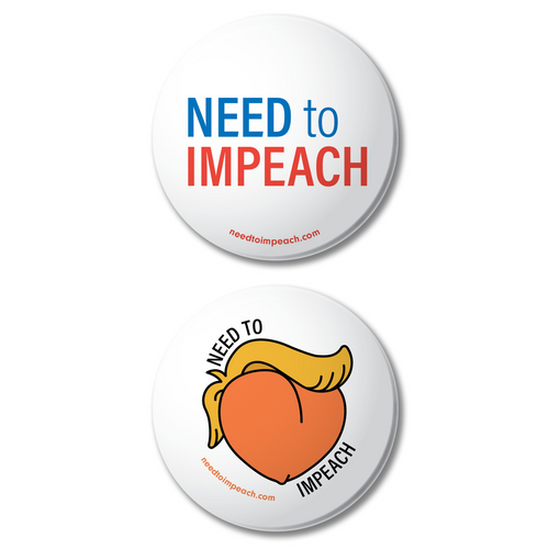 Need to ImPeach Button 2-Pack