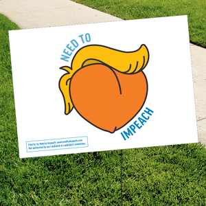ImPEACH Yard Sign