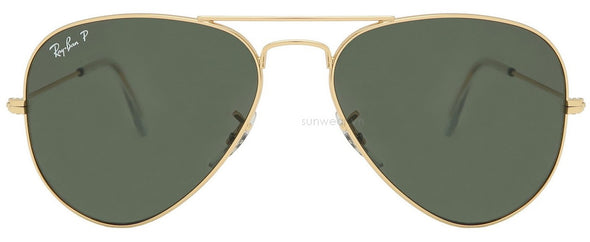 Rayban 3025 polarized gold green RB3025-001/58(62)-Straight