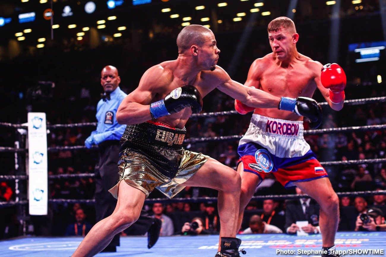 CHRIS EUBANK JR Vs MATT KOROBOV