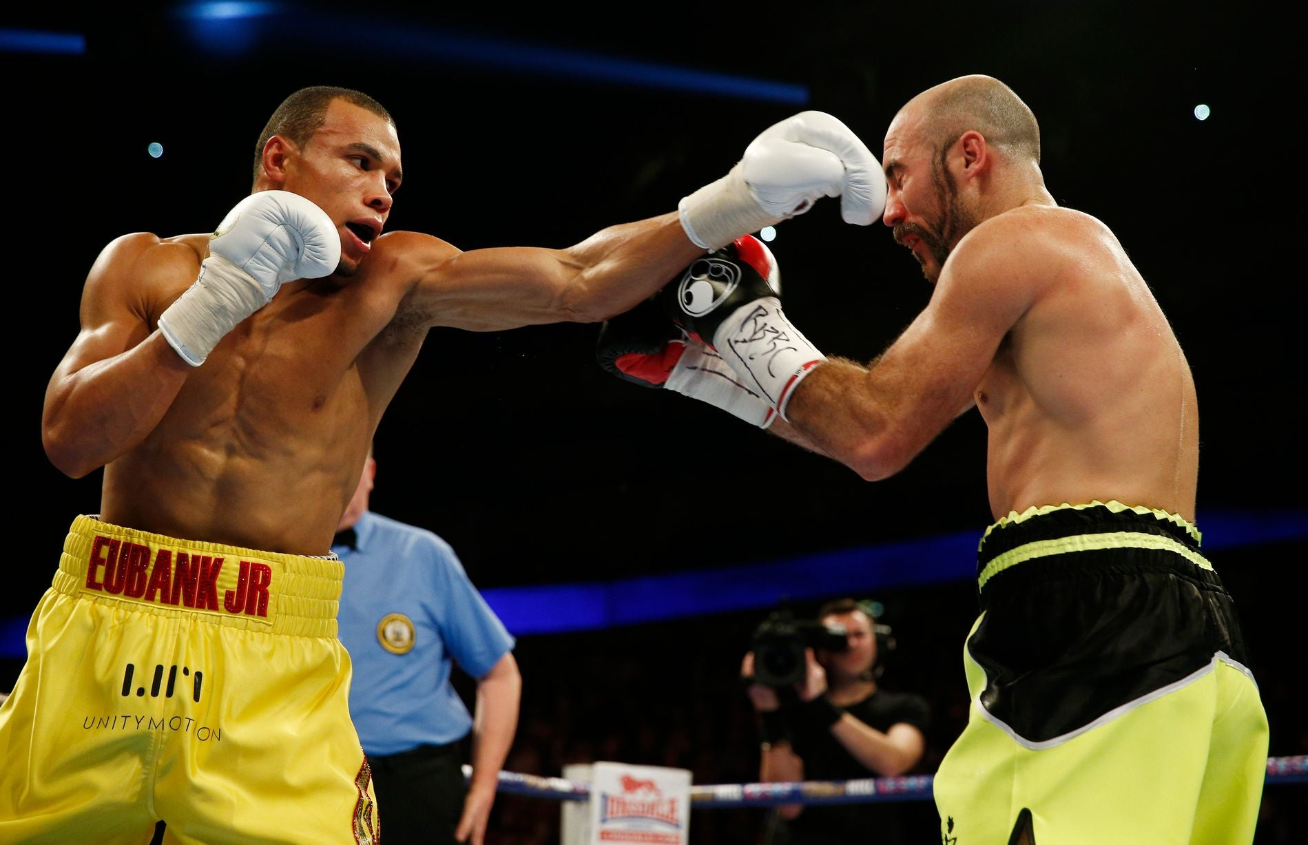Chris Eubank Jr Vs Gary O'Sullivan