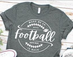 Wake Me Up When Football Is Back T-Shirt