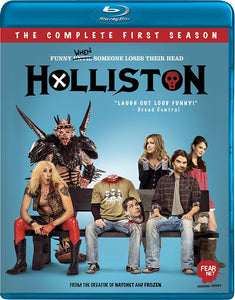 "HOLLISTON ""Season 1"" - Autographed DVD or Blu-Ray"