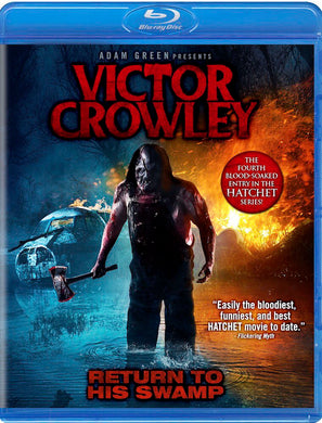 VICTOR CROWLEY - Autographed Blu-Ray