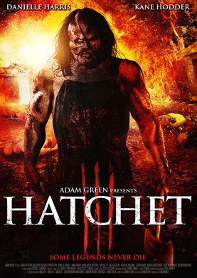 HATCHET III - Autographed Screenplay