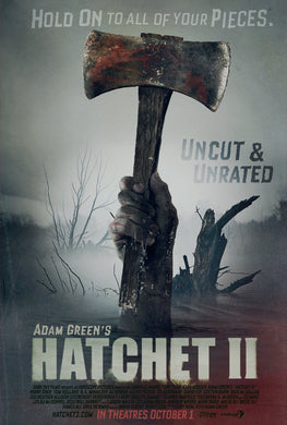 HATCHET II - Autographed Screenplay