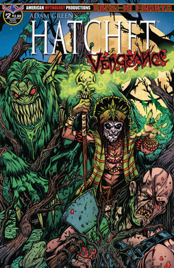 *NEW* HATCHET: VENGEANCE Issue #2- Autographed Comic