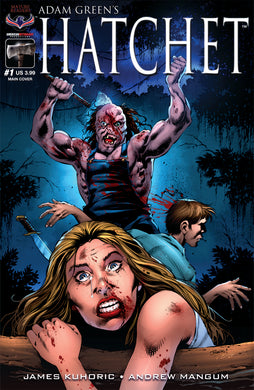 HATCHET - Autographed Comic Issue #1