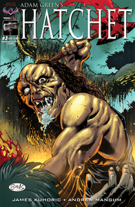 HATCHET - Autographed Comic Issue #3