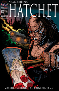 HATCHET - Autographed Comic Issue #0
