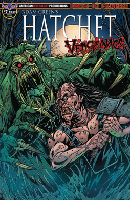 HATCHET: VENGEANCE - Autographed Comic Issue #1