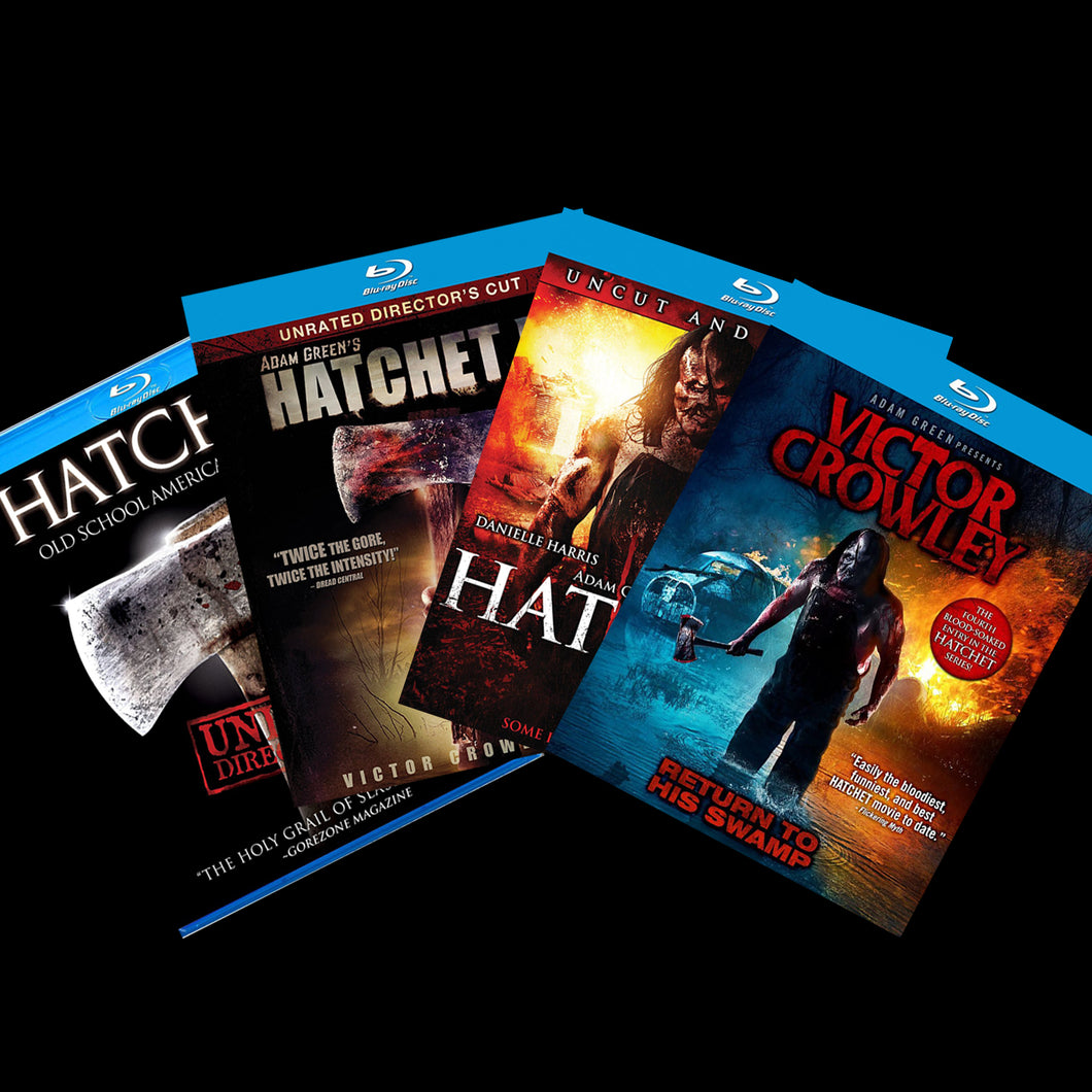 HATCHET Full Franchise Blu-Ray Set!