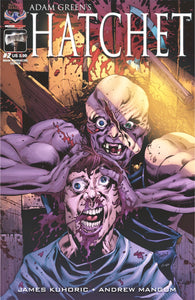 HATCHET - Autographed Comic Issue #2