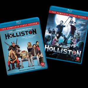 "HOLLISTON ""Seasons 1 & 2"" - Autographed Blu-Ray set"