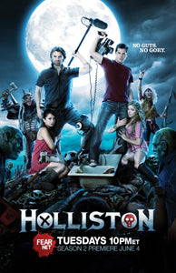 "HOLLISTON - Autographed ""Season 2"" Poster"
