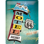 Cartello 30 x 40 cm Route 66 Motel