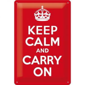 Cartello 20x30 Keep Calm