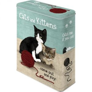 "Scatola ""XL"" Cats and Kittens"