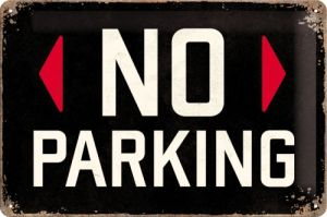 Cartello 20x30 No parking