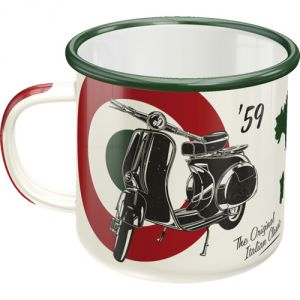 TAZZA IN METALLO   Vespa '59 - The Original Italian Classic