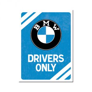 BMW - Drivers Only Blue - MAGNETE