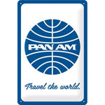 Cartello 20x30 PANAM - Travel the World