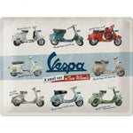 Cartello 30 x 40 cm Vespa - Model Chart