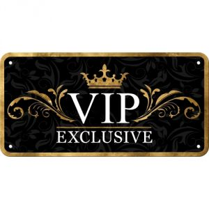 Cartello con filo Vip Exclusive
