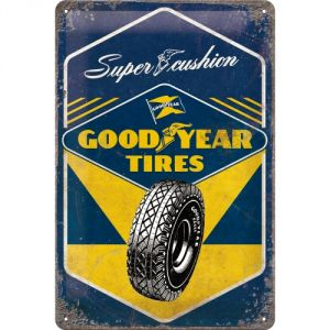 Cartello 20x30 Goodyear - Super Cushion