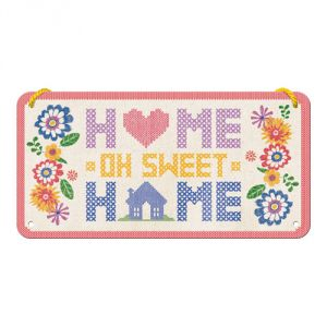 Cartello con filo Home Sweet Home