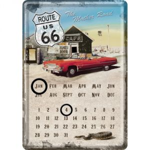 Calendario cartolina Route 66 - Auto