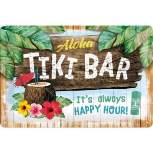 Cartello 20x30 Tiki Bar