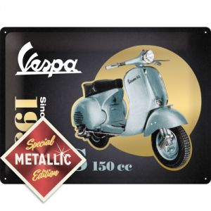 Cartello 30 x 40 cm Vespa - Model Chart: LIMITED EDITION