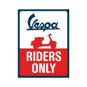 Magnete VESPA Riders only